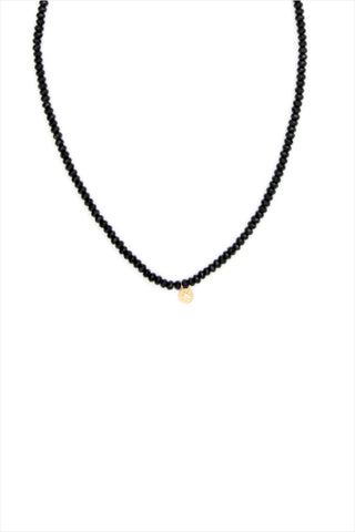 Heroine Circle Star Onyx Necklace