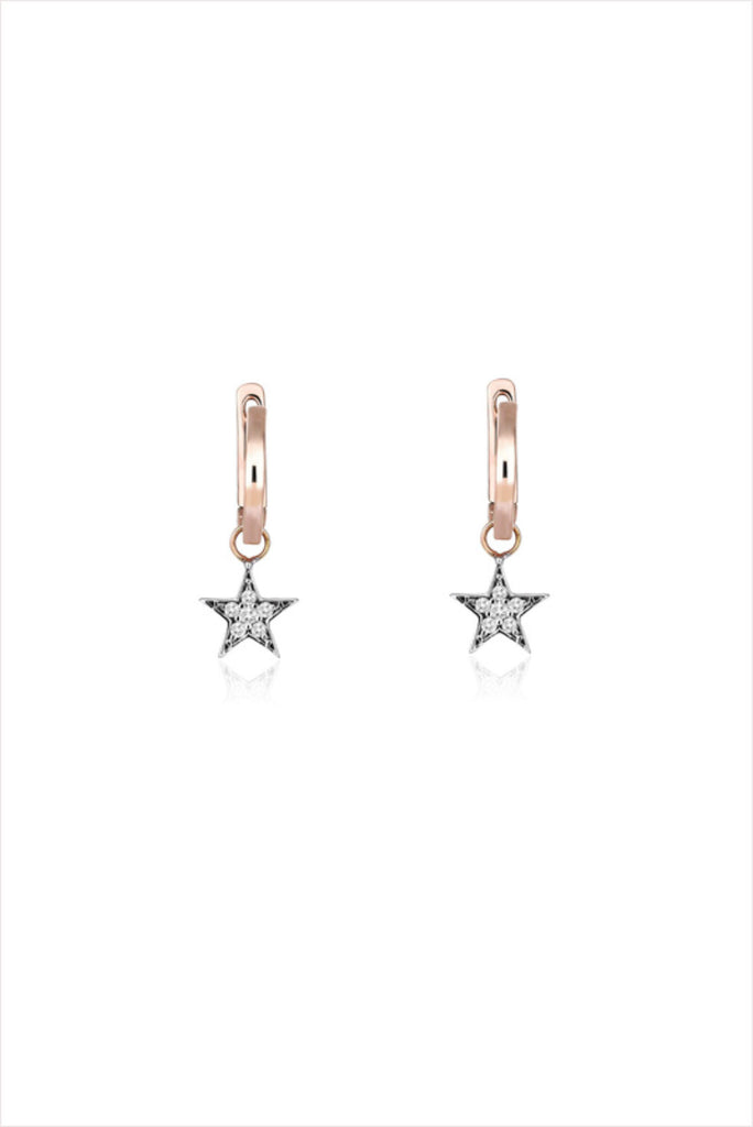 Wonder Woman Star Hoops (Pair)