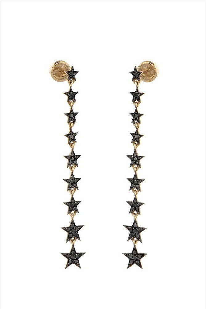 Wonder Woman Star Long Earrings (Pair)