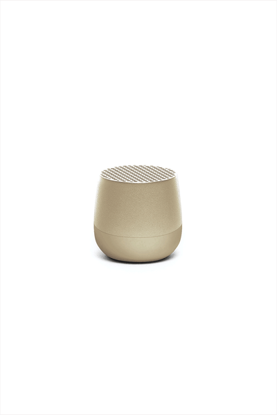 Mino Bluetooth Speaker Soft Gold