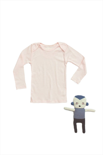 Lap Shoulder Tee Long Sleeve Blossom