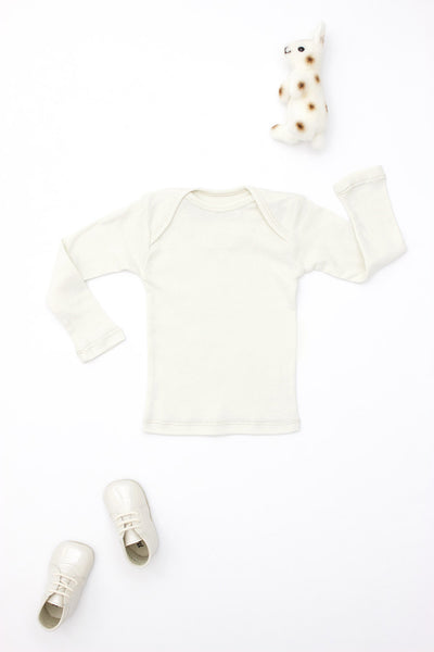 Lap Shoulder Tee Long Sleeve Sand