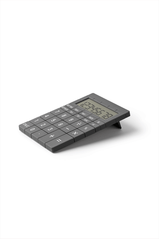 Mozaik Large Key Calculator Dark Gray