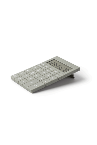 Mozaik Large Key Calculator Light Gray