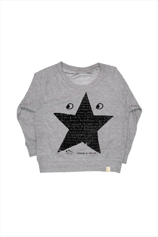 Le Star Fleece Raglan Pullover