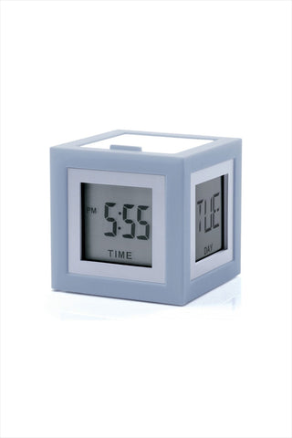 Cubissimo Alarm Clock Light Gray