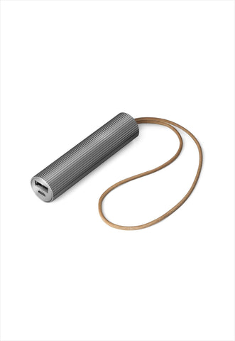 Fine Tube Power Bank Gunmetal