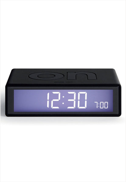 Flip Alarm Clock Black