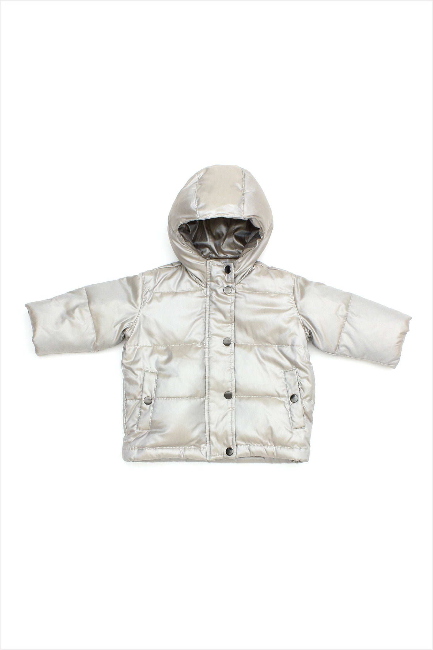 Sample Sale Parka 6month Silver Pearl