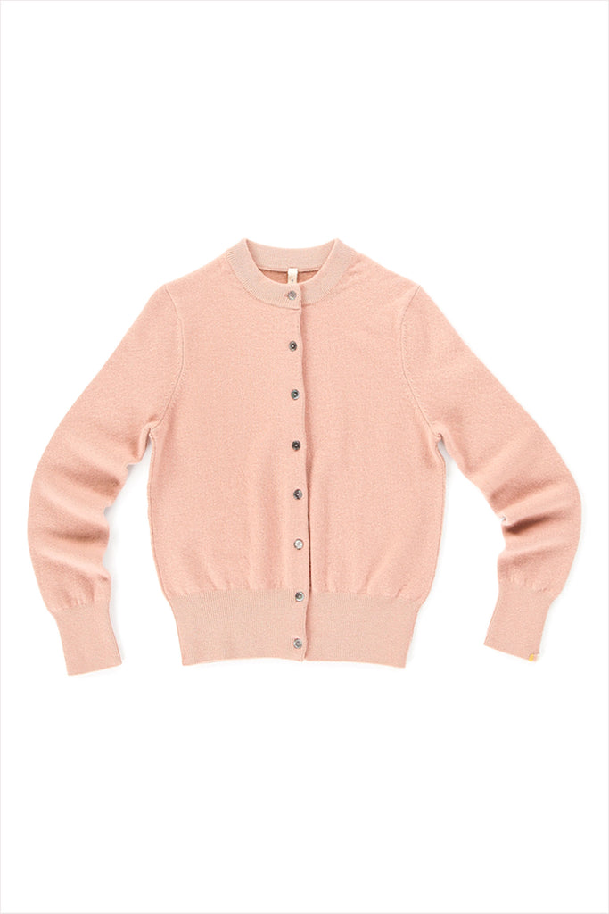 Extreme Cashmere n°99 Little Cardigan Tea Rose