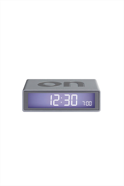 Flip Alarm Clock Gray