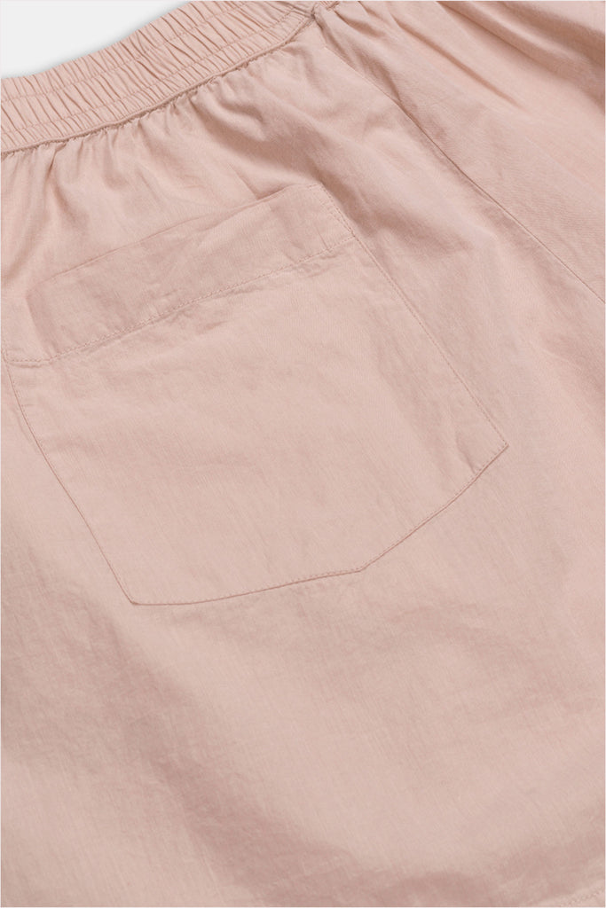 AIAYU Lulu Poplin Shorts Pale Rose