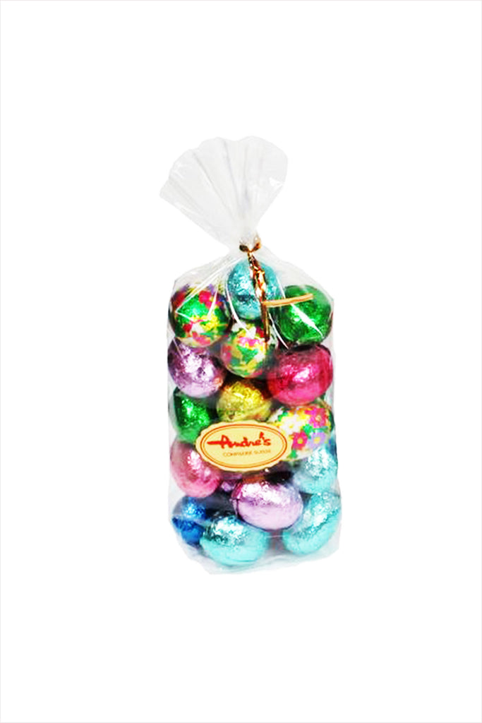 Andres Chocolate Easter Mini Foil Wrapped Chocolate Eggs