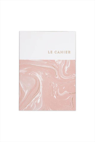 Le Cahier Pink Marble Foil Notebook