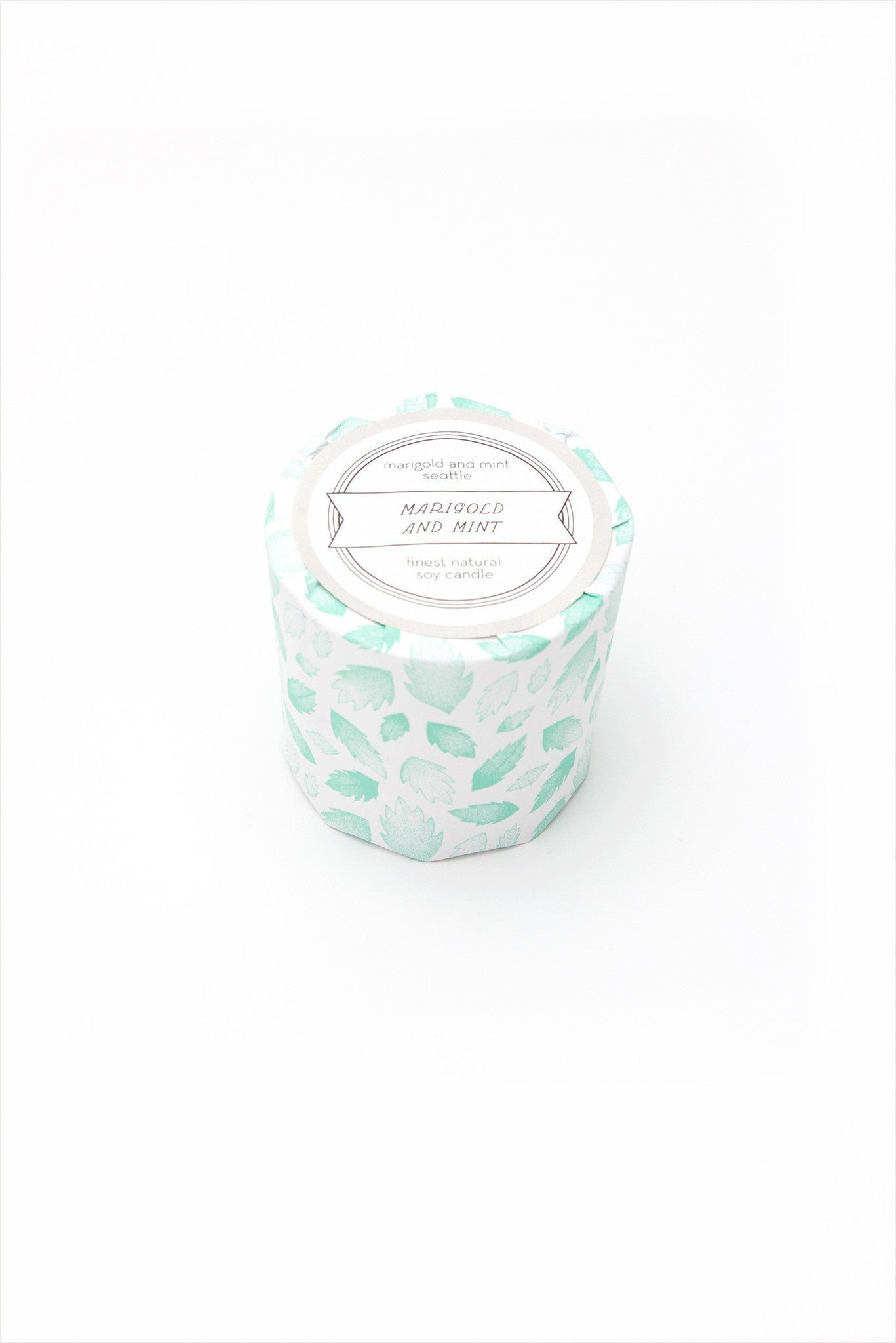 Marigold And Mint Candle Signature