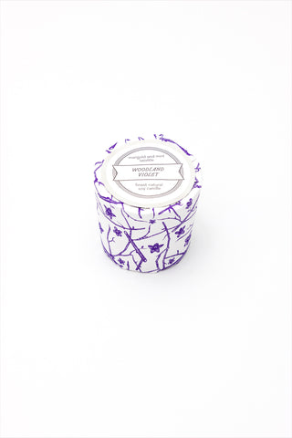 Marigold And Mint Candle Woodland Violet