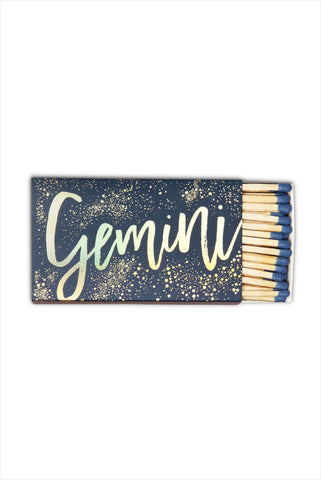Gemini Zodiac Matches