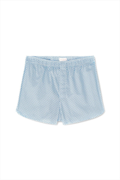 Derek Rose Men's Modern Boxers Ledbury 40 Blue