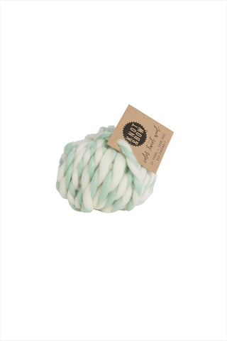 Mint Twist Wool Ball