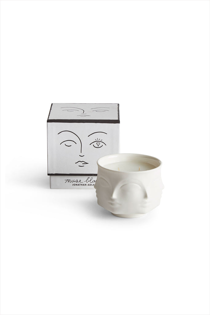Muse Dora Candle Blanc