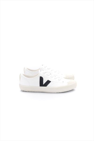 Veja Adult Nova Canvas Sneaker White Black