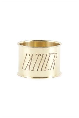 Father Endearment Napkin Ring