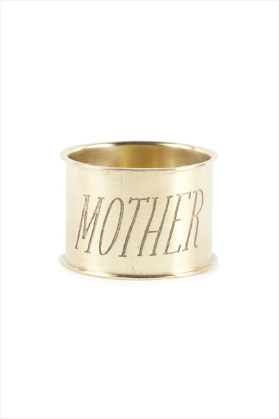 Mother Endearment Napkin Ring