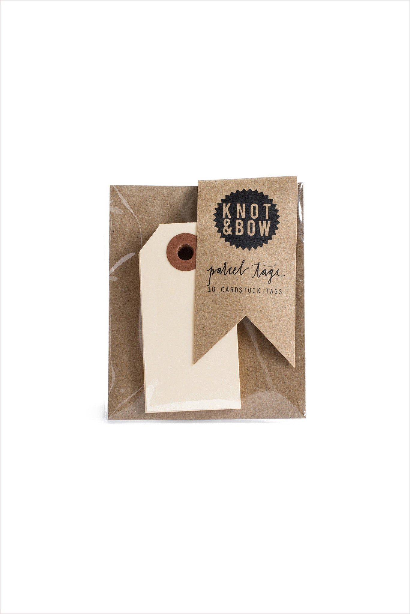 Natural Parcel Tags