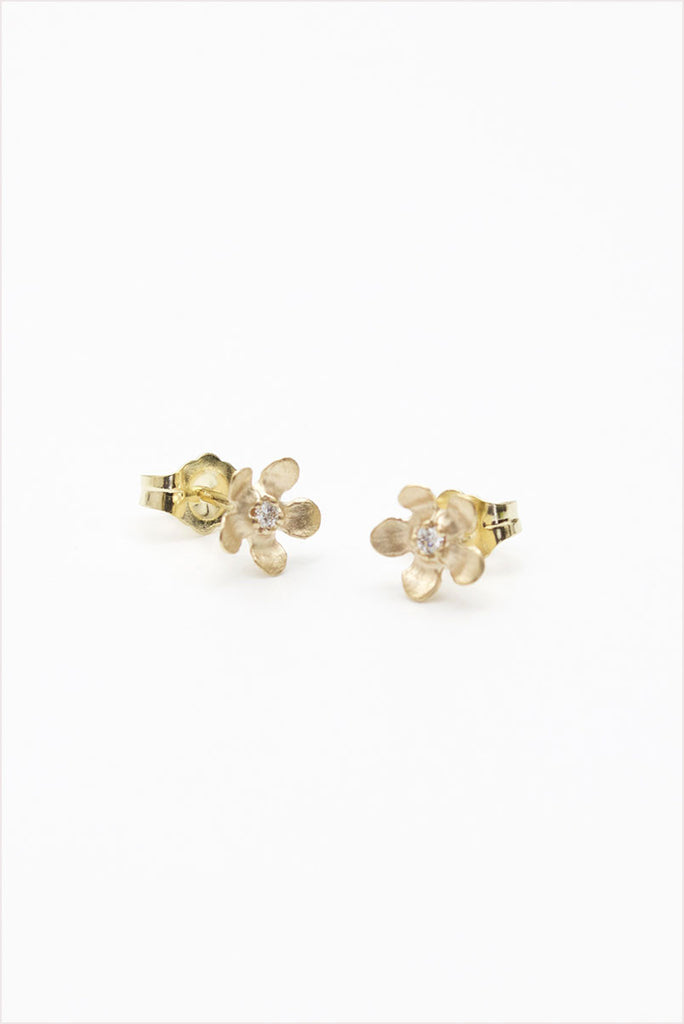 Open Flower Earrings