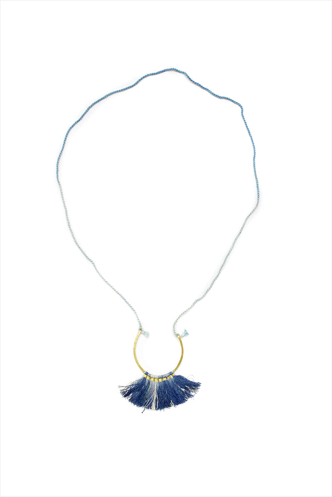 Ornament Necklace Indigo