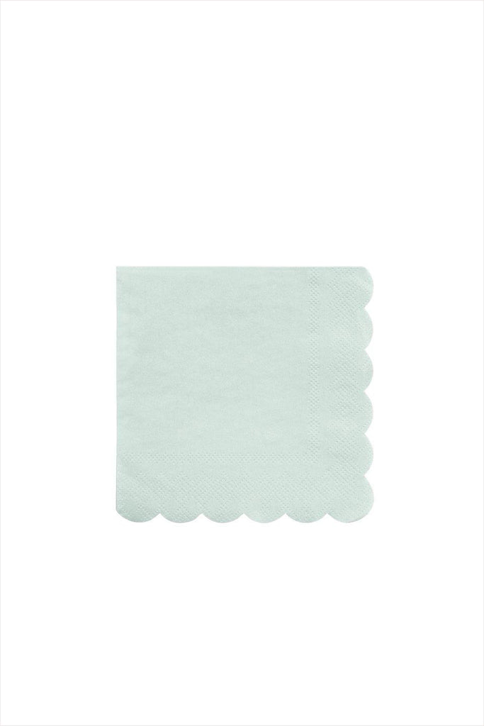 Pale Mint Small Napkins