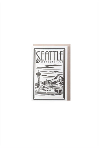 Seattle Ferry Lino Card