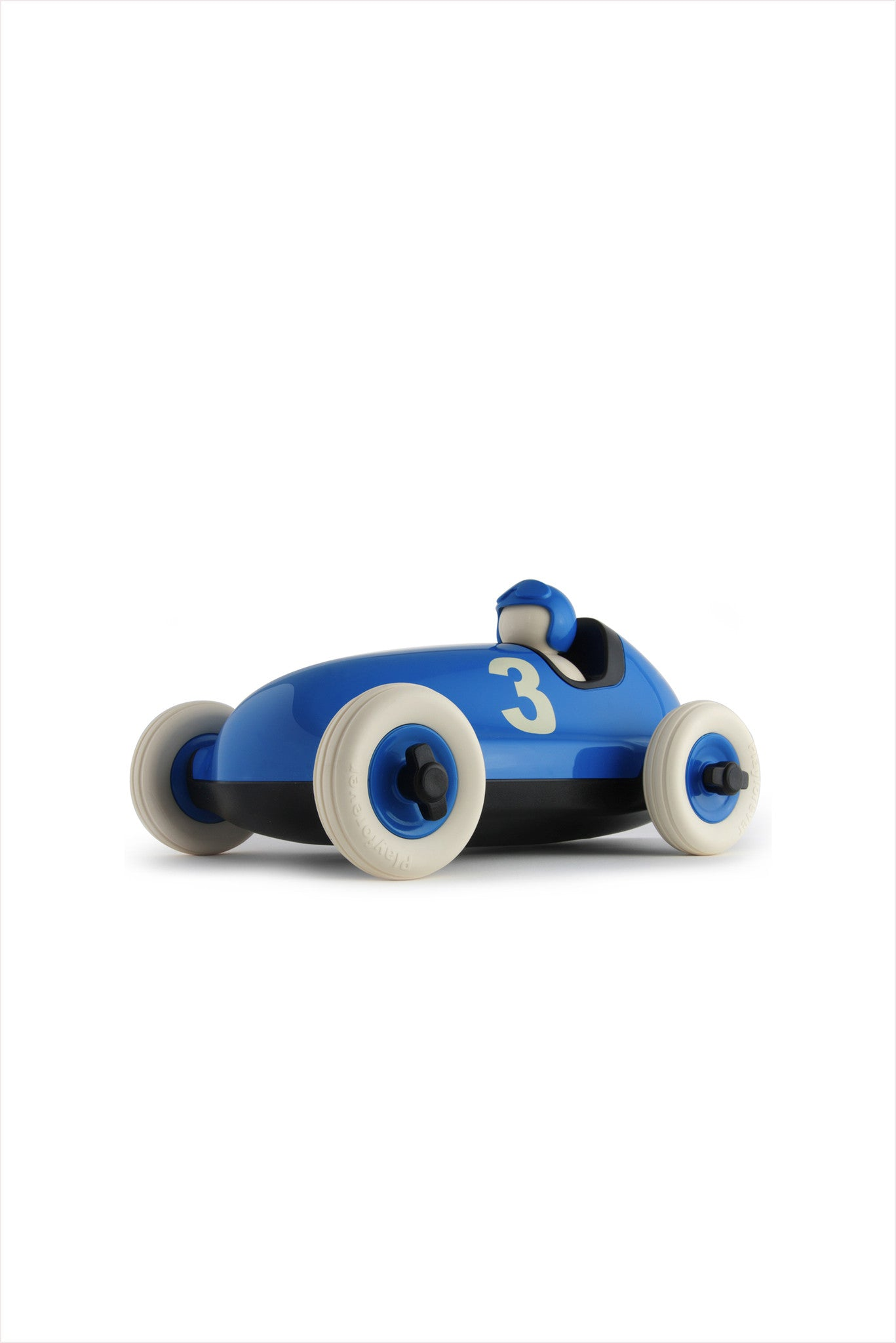 Blue Bruno Racing Car