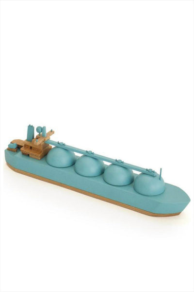 Wooden Boat Arctic Princess Blue