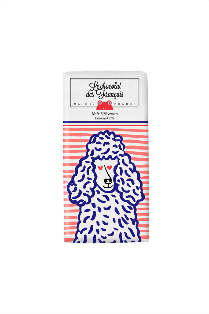 Poodle Chocolate Bar