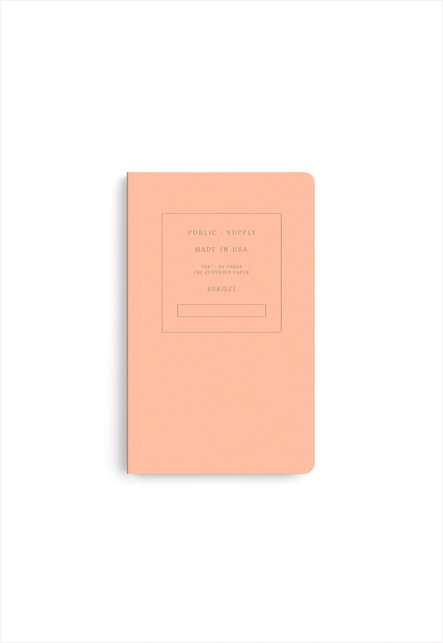 Embossed Soft Cover Book Dots Paper