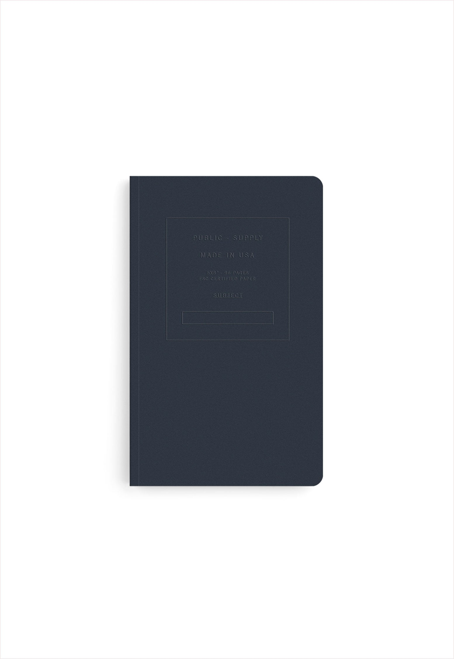 Embossed Soft Cover Book Dot Paper