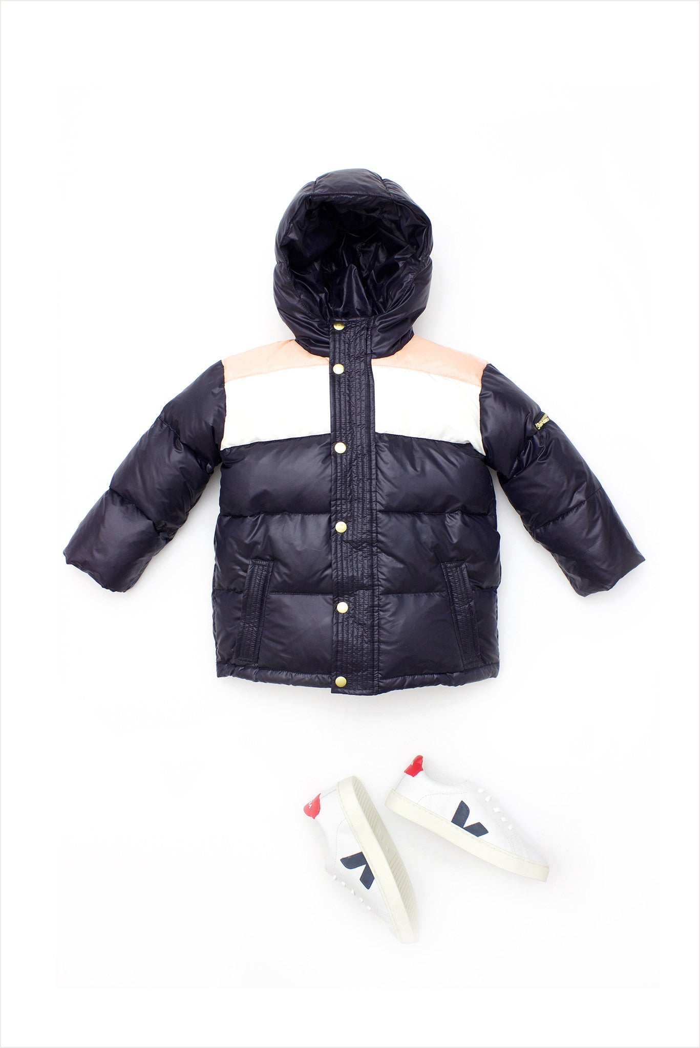 Racing Stripe Puff Performance Parka