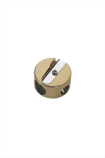 Brass Circle Pencil Sharpener