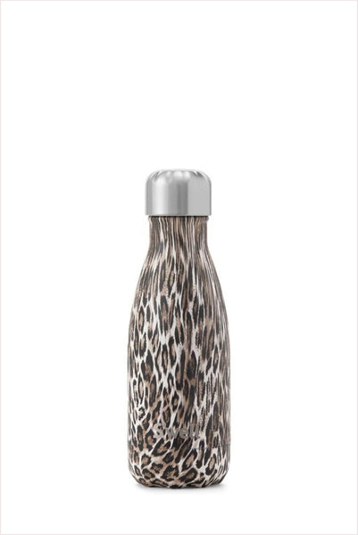 S'well Water Bottle - Khaki Cheetah 9 oz