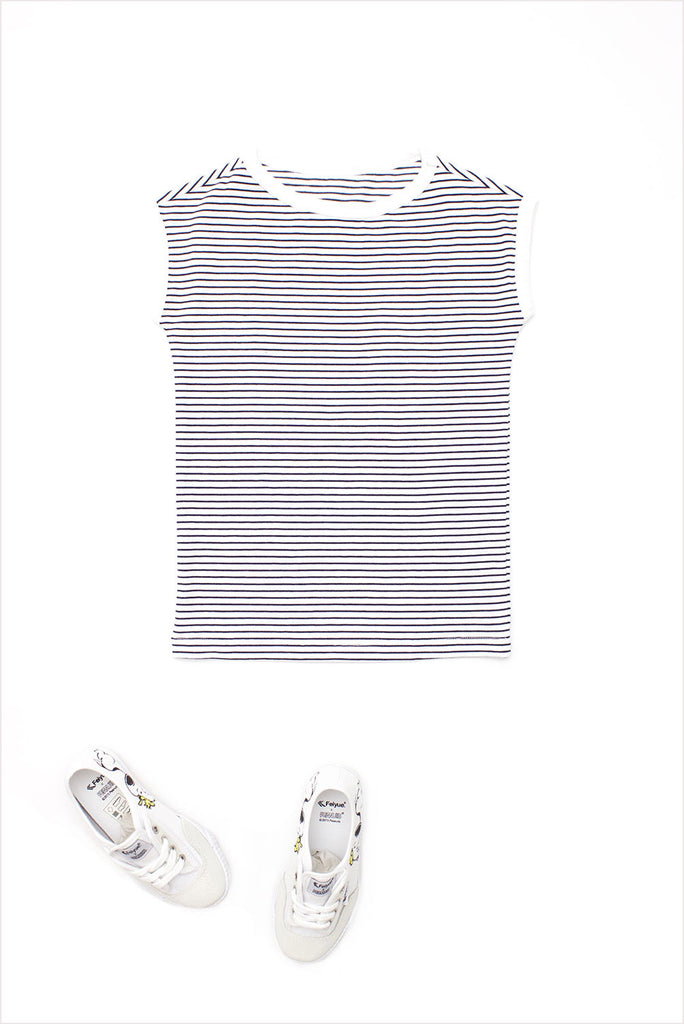 Sailor Stripe Tunic Tee