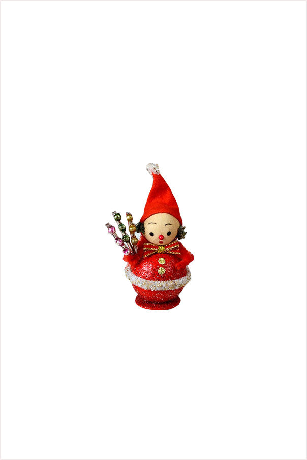 Santa Elf Boy - Christmas Spray Ornament