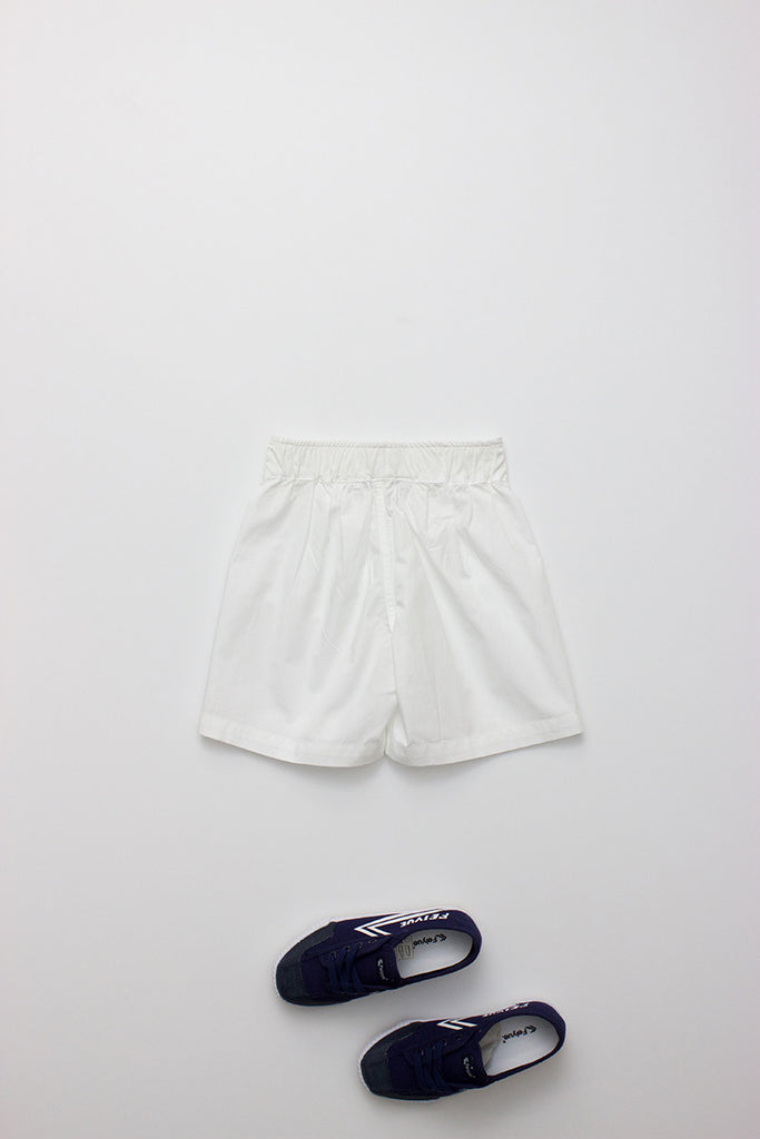 Scout Short White