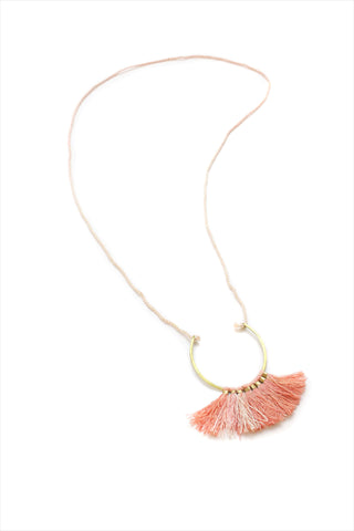 Ornament Necklace Coral