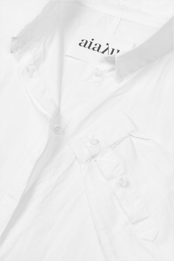 AIAYU Shirt White