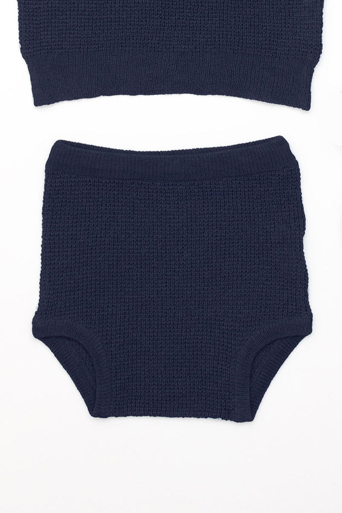 Knit Silk Cashmere Brief
