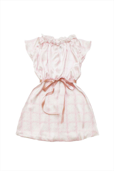 Silk Satin Fairy Floss Dress