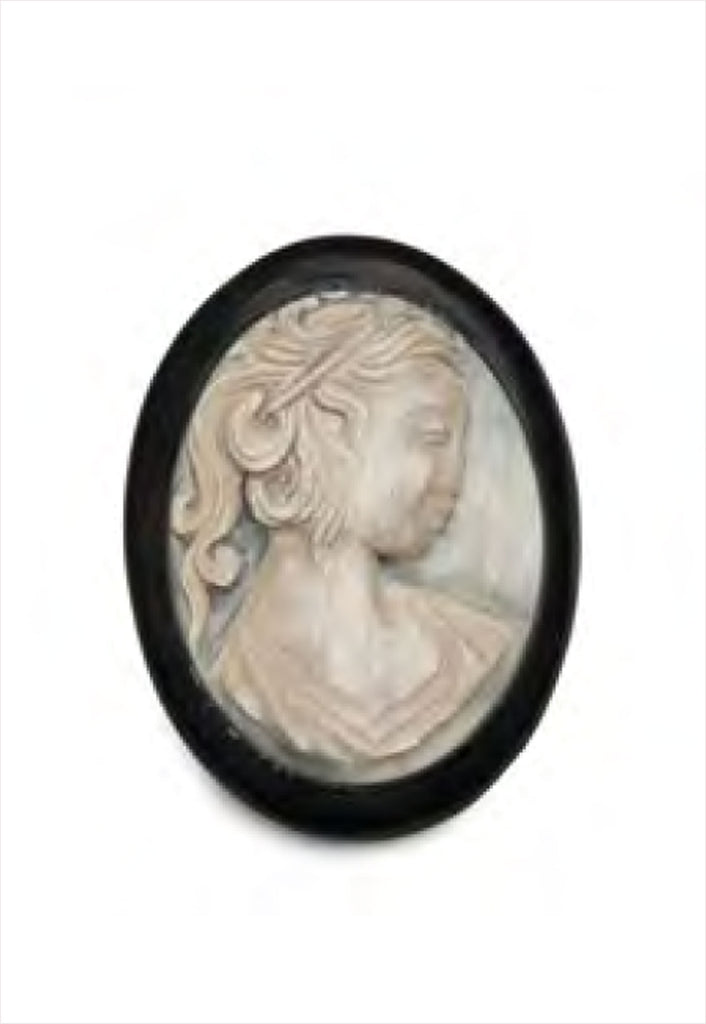 Siren Song Cameo Brooch