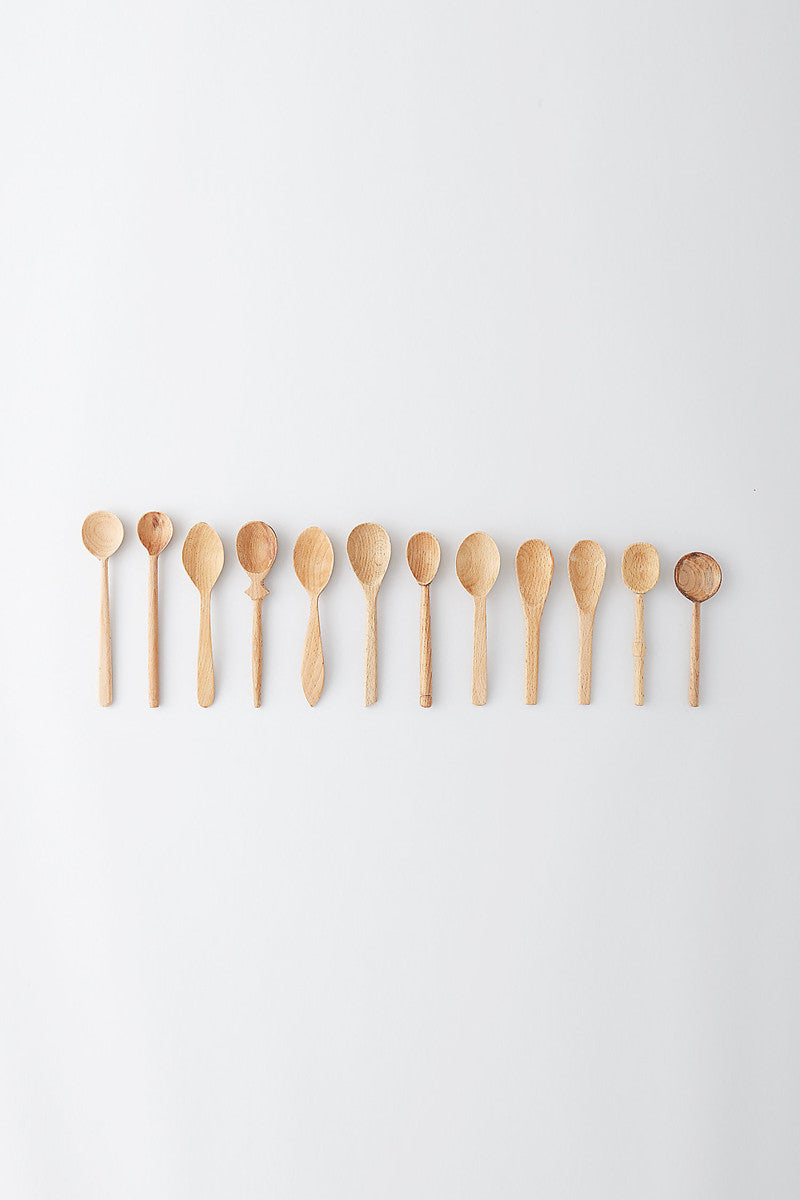 Small Wooden Spoon Set
