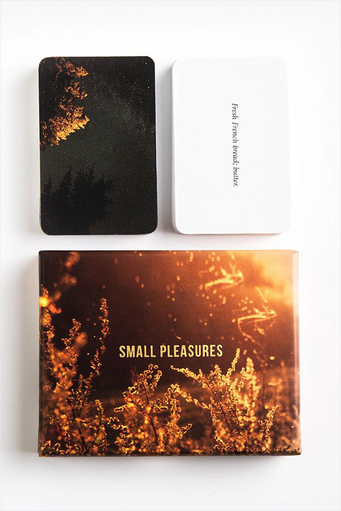 Small Pleasures Card Set